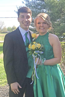 Pictured are Trey Spalding and Hannah Shoemake.