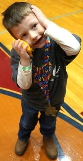 Zachary Baumgardner II, 4, of Loretto is full of personality.