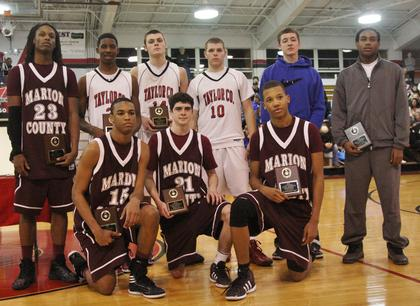 Carlos Litsey, Vincent Collins, John Southall, and Latrelle Irvin were selected to the all-tournament team