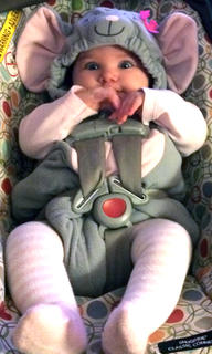 Naomi Hamilton is the cutest little mouse we've ever seen.
