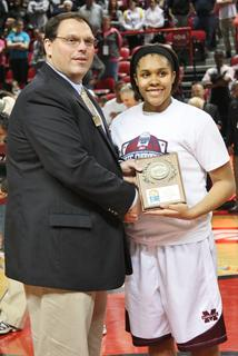 Senior Logan Powell was selected to the 2013 Sweet 16 All-Tournament Team.