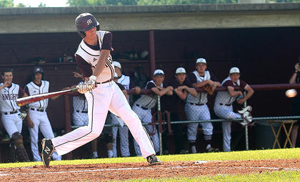 Andrew Spalding hit .666 and drove in five runs in the regional tournament.