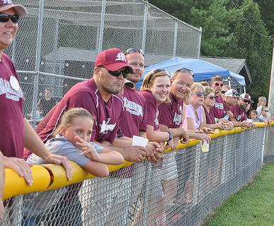 The Marion County 8-10 All-Stars had strong fan support during their state tournament run.