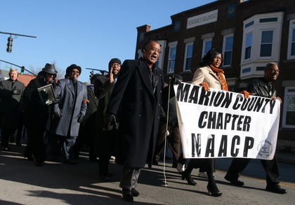 Citizens from the throughout the community participated in the march.