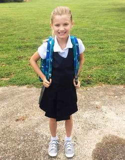 Ally Cecil is ready to return to St. A for another great school year!