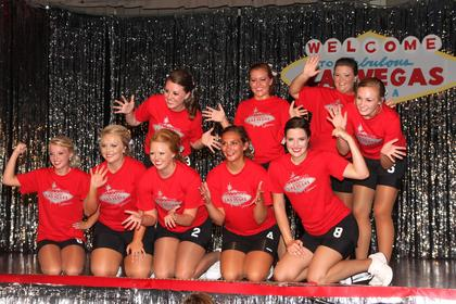 Participants 1 through 9 in the 2013 Marion County Distinguished Young Woman program were part of the Glamour group.