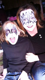Grace Wilson and Beth Wilson pose for a photo during Halloween in 2013.