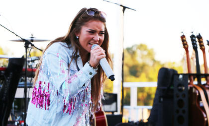 Layla Spring, American Idol alum and Marion County native, is the 2018 Pigasus Parade Grand Marshal, and performed throughout the weekend.