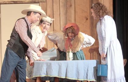 """""""Lovely in Danger"""", a new, old-fashioned melodrama will be performed during the weekend of both celebrations. The first performances will be at 8 p.m. Nov. 25 and Dec. 2 at Angelic Hall in Lebanon. The Burdette Family will perform at 7:45 p.m. prior to both shows."""