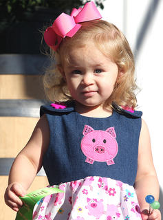 Participant No. 2, Ava Kate Bright, is the daughter of Natalie Wheatley and Jesse Bright.