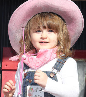 Participant No. 4, Ella Kate Gootee, is the daughter of Adam and Krystal Gootee.