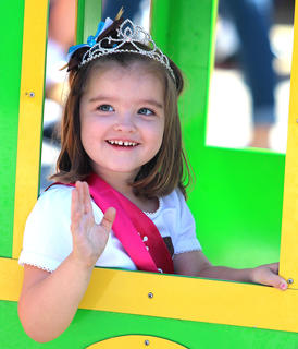 Sadie Kate Jewell is this year's Little Miss Ham Days winner.