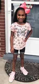 JahNiah Grace Porter is on her way to a great second grade year at Lebanon Elementary.