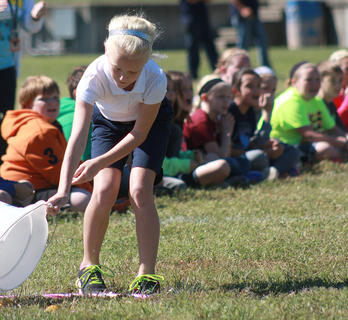 Teams from all five elementary schools in Marion County participated in the relay race.