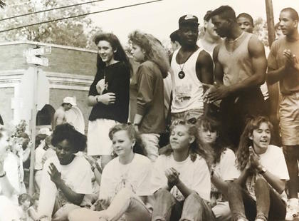 A peek at Ham Days in 1990! Join us in celebrating the 50th anniversary of Ham Days every week with new photos from the past!