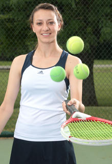 Olivia Thompson is the female tennis player of the year.